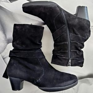 WOLKY Suede Booties